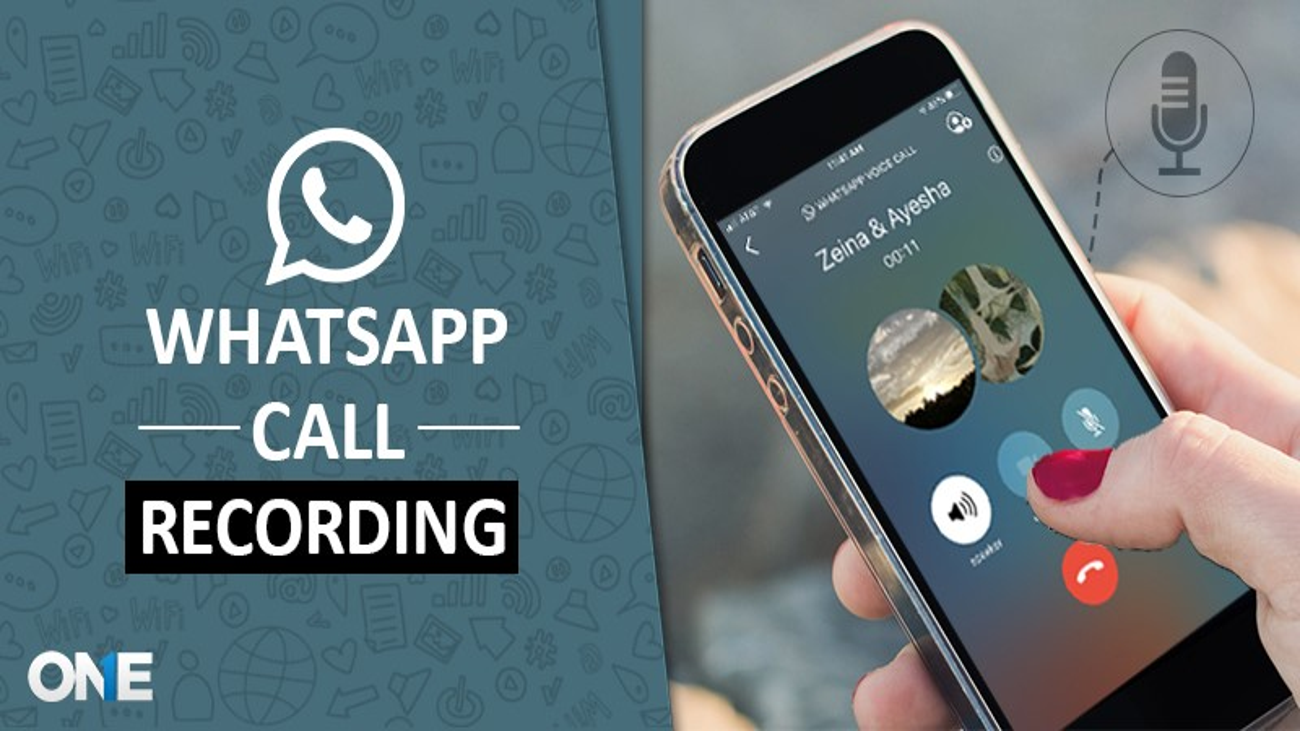 record WhatsApp call
