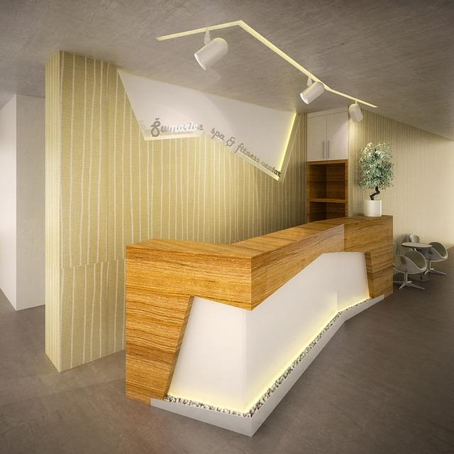 Reception desk uae